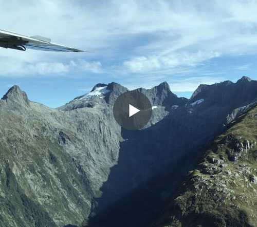 Enjoy Your Very Own Bird's Eye View Of The Backdrop to 'Lord Of The Rings'…